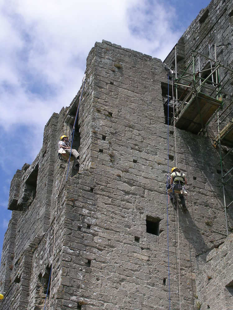 Building Work In Stone